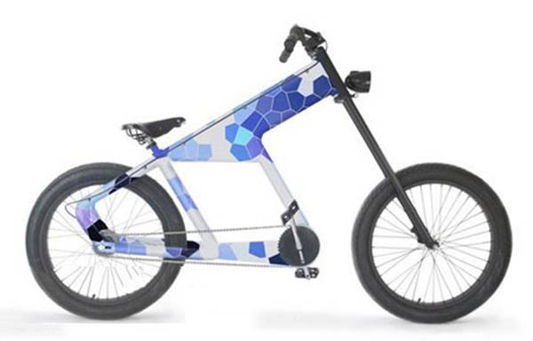 德国变速自行车产品设计